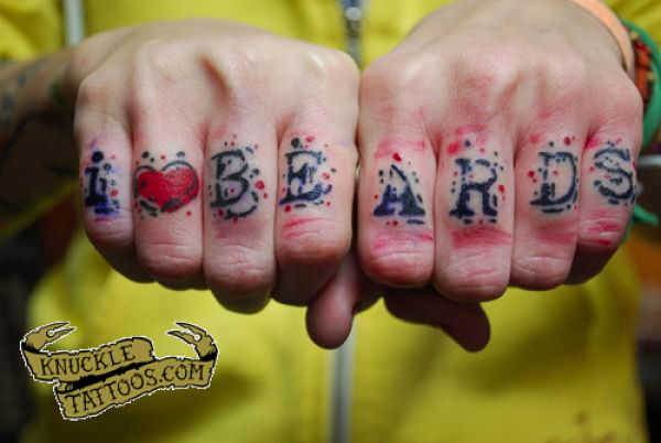 Different Knuckle Tattoos (50 pics)