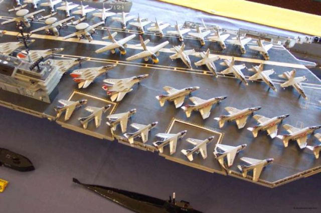 Amazing Wooden Matchboxes Ships (19 pics)