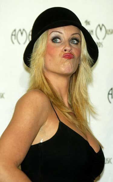 Bizarre Duckfaces by Celebrities (50 pics)