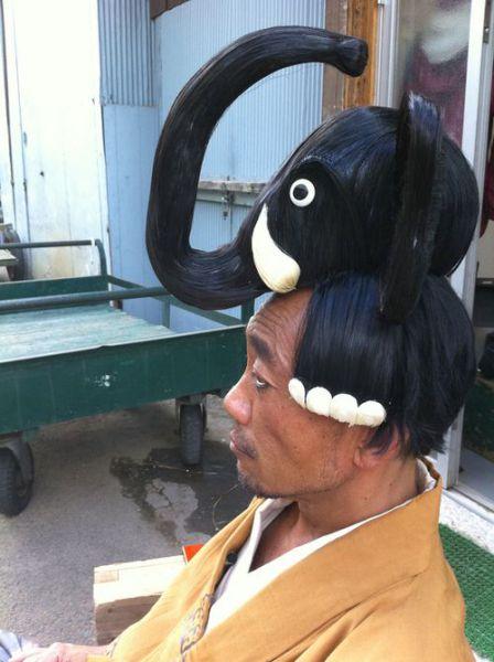 Bizarre Hairstyle (2 pics)