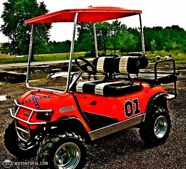 Cool Golf Cars  21 Pics