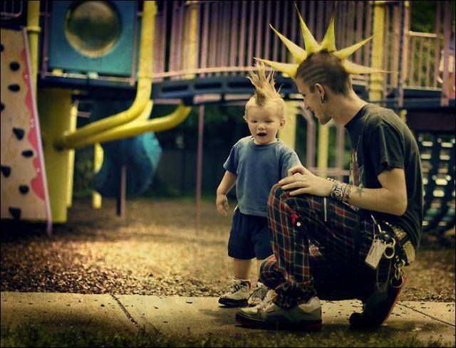 Punk Children (17 pics)