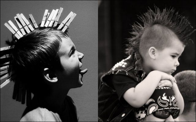 Punk Children (17 pics)