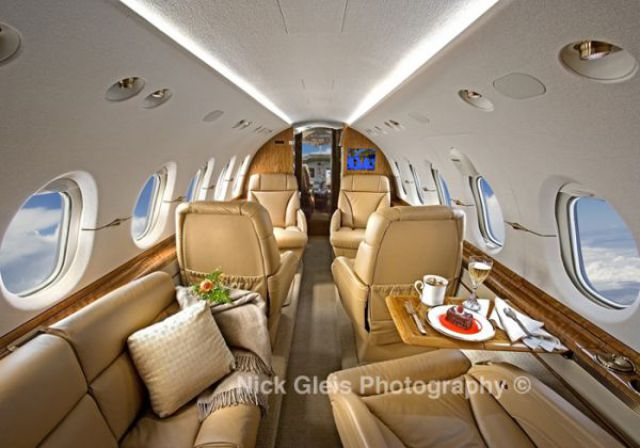 Interiors of the Most Expensive Private Jets (14 pics)