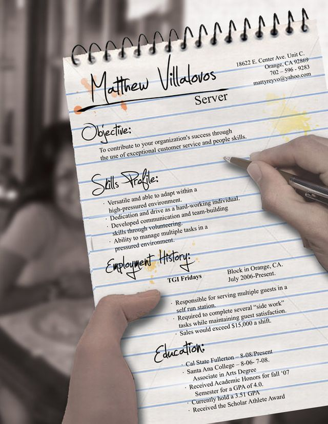 Creative Resume Designs (24 pics)