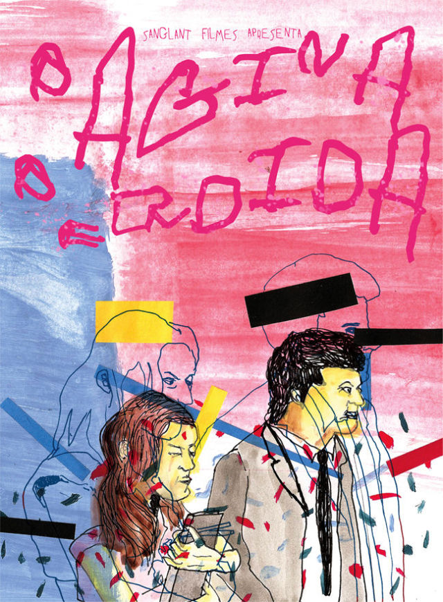 """Poster for Brazilian abstract movie """"LOST PAGE"""" (1 pic)"""