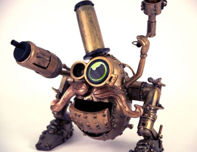 Mr Potato in the Steampunk Style (15 pics)