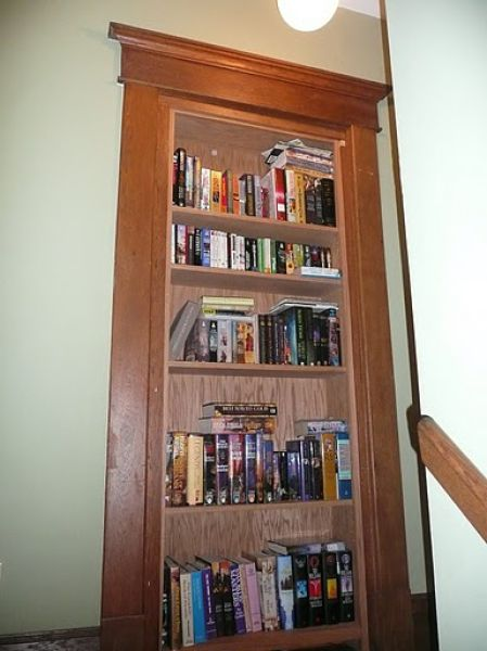 Bookcase for Men (3 pics)