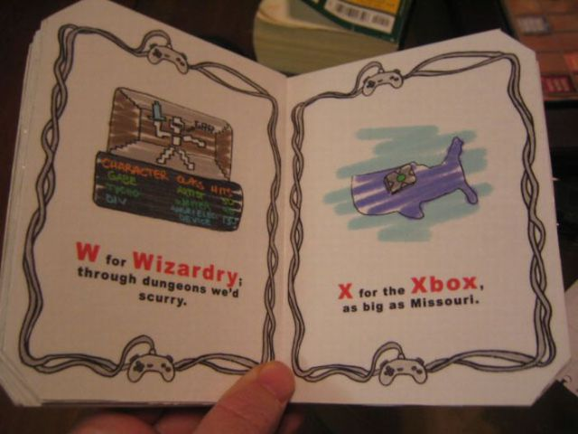 A Handmade Book for Gamers (15 pics)