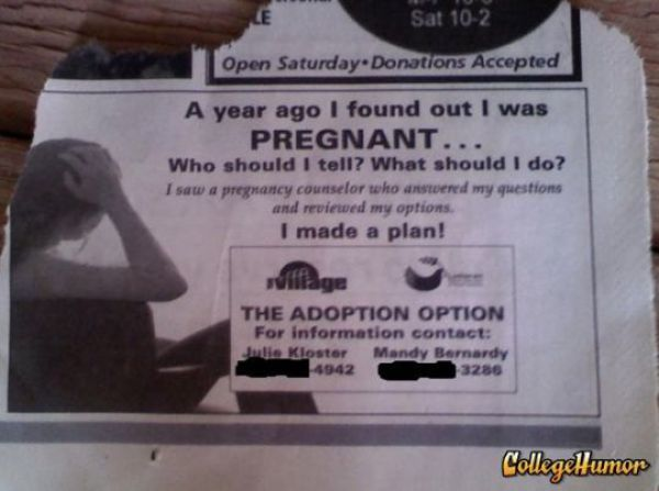Funny Things You Can Find in Newspapers (28 pics)