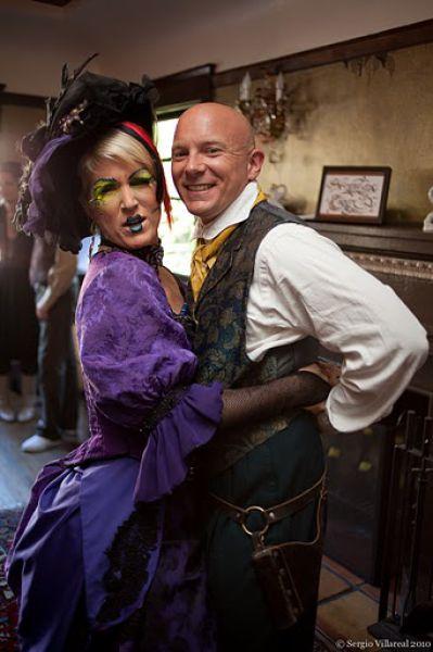 Steampunk Wedding (35 pics)