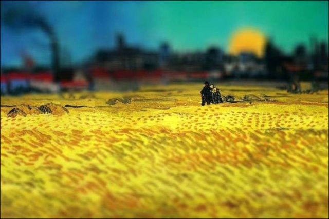 Tilt-Shift Brings Van Gogh Back to Life (16 pics)