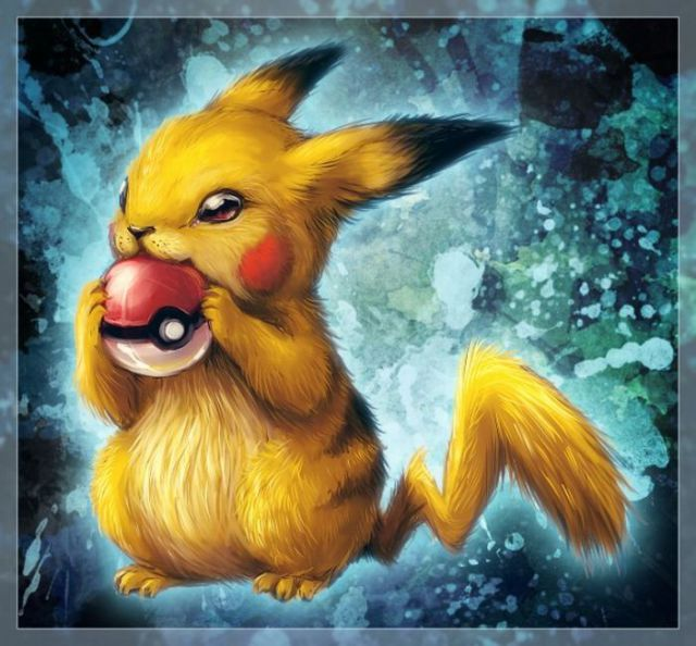 Beautiful Drawings of Pokemons (94 pics)