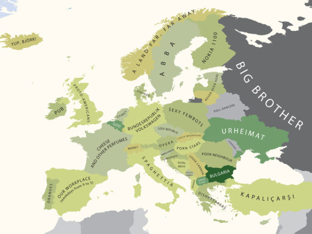 Hilarious Mapping Stereotypes (9 pics)