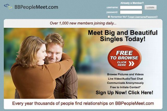 cheesy dating websites