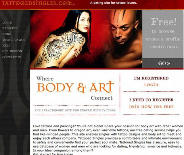 Some of the Most Weird Websites for Dating (25 pics)