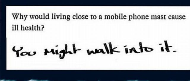 Unusual Exam Answers. Part 2 (23 pics)