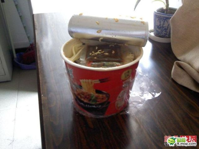 Unsavory Chinese Noodles (4 pics)