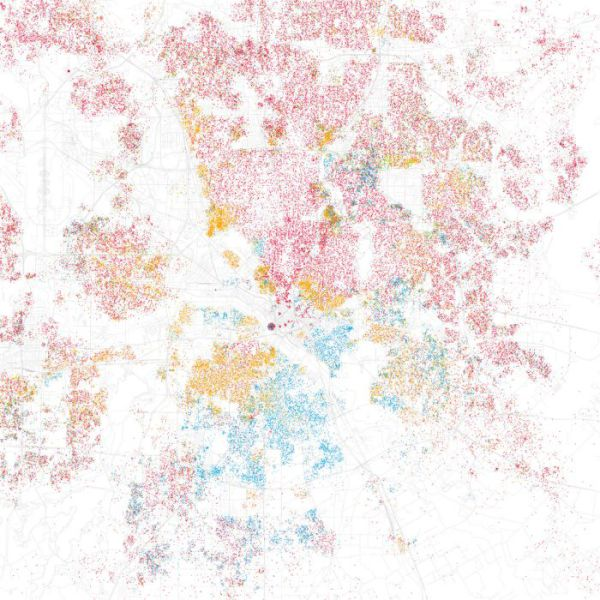 Racially Divided Map of America (66 pics)