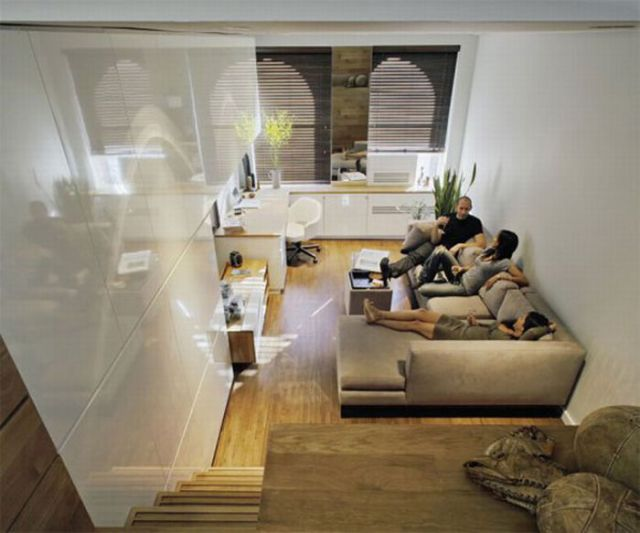 How to Use Space Efficiently in a Small Studio Apartment (13 pics)