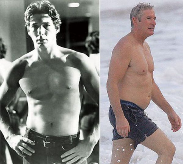 Male Celebrities: Then and Now (12 pics)