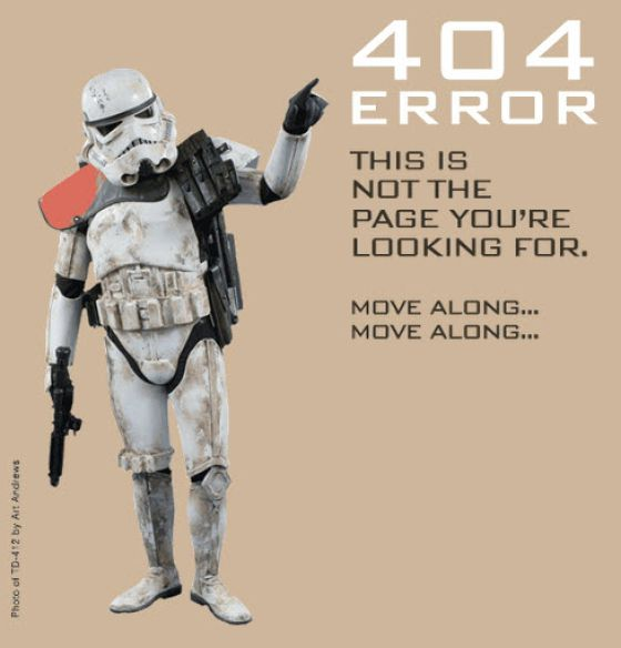 Creative 404 Error Pages (35 pics)