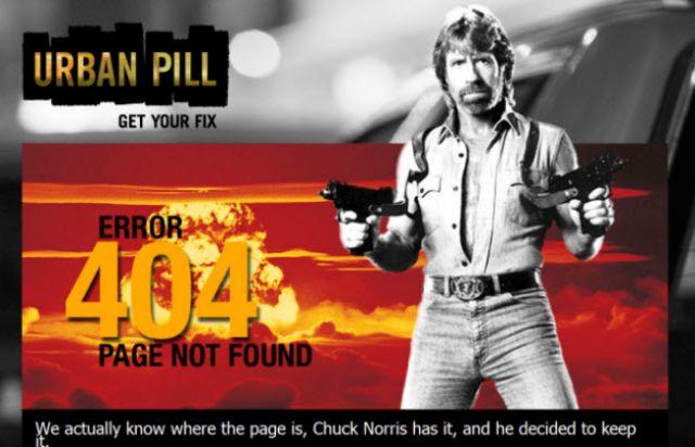 Creative 404 Error Pages (35 pics)