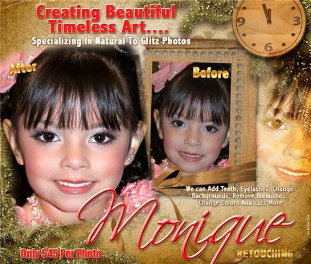 Beauty Children Pageants Make Children Look Ugly