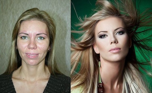 Make-up Miracles: Before and After (10 pics)