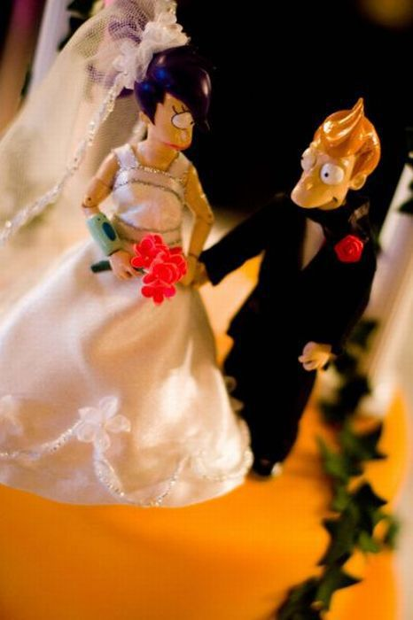 Incredible Futurama Wedding Cake (10 pics)