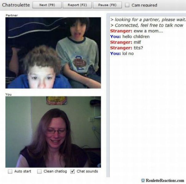 Chatroulette boys