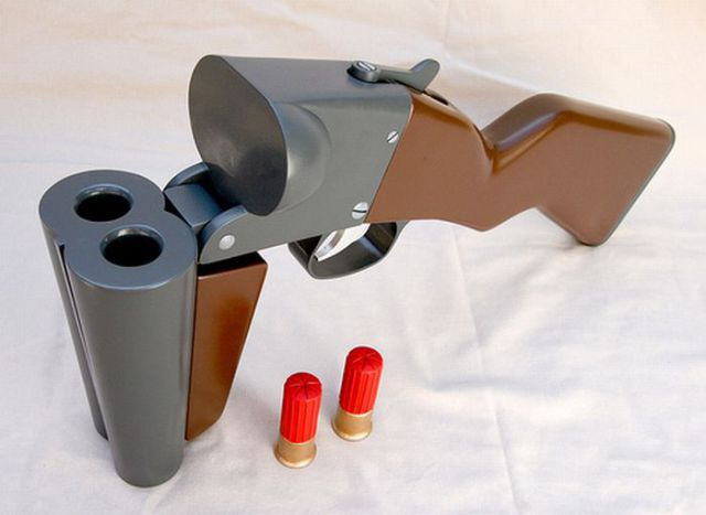 Making a Double Barreled Gun (31 pics)