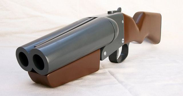 Making a Double Barreled Gun (31 pics)