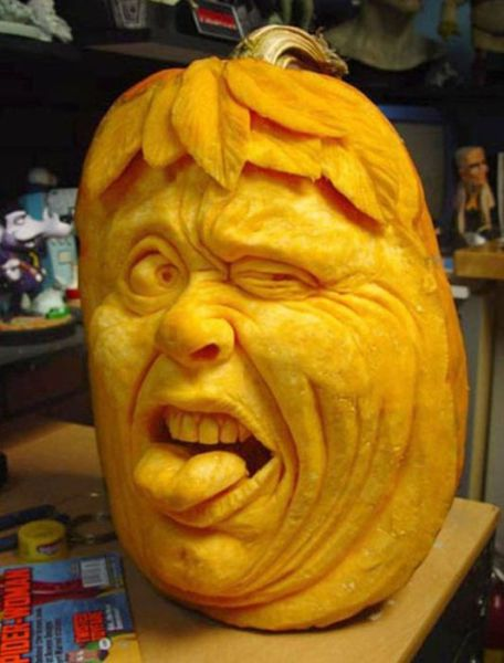 Amazing Carved Pumpkins (19 pics)