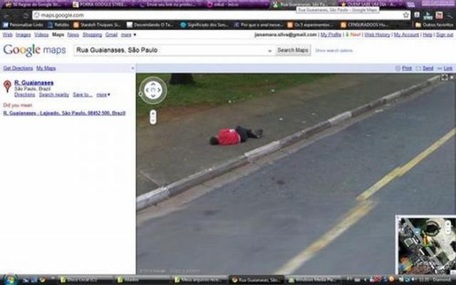 Curious Google Street View Images from Brazil (27 pics)