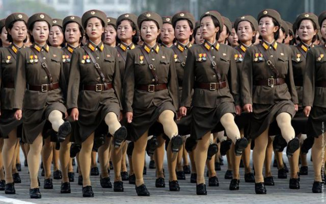 the north korean army. Return to North Korean