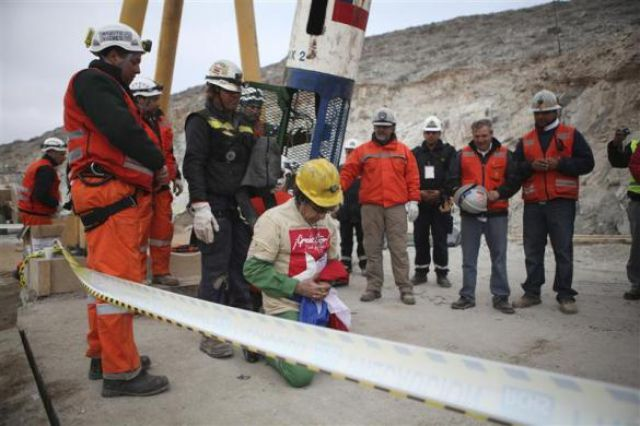 Amazing Rescue after Spending Two Months Underground (36 pics)