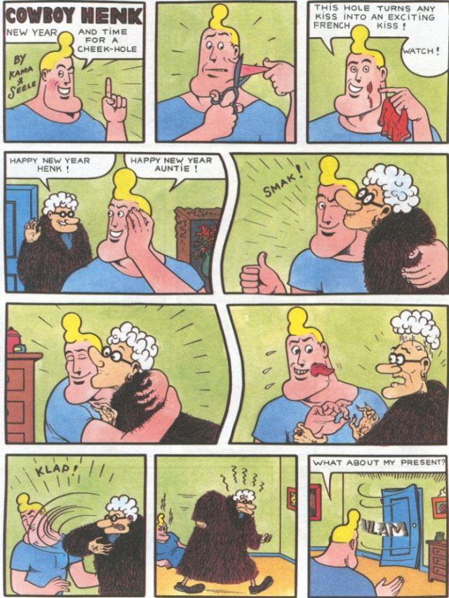 The Comics of Cowboy Henk (50 pics)