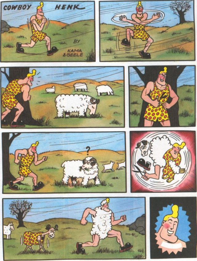 The Comics of Cowboy Henk (50 pics)