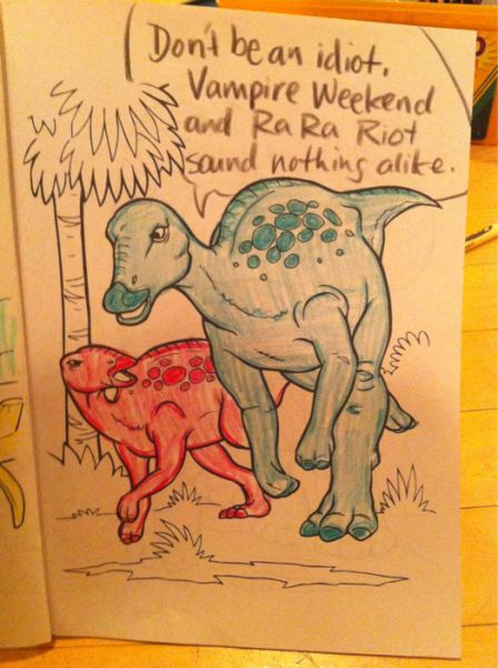 Dinosaurs as Hipsters (15 pics)