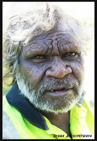 Faces of Australian Aborigines (11 pics)