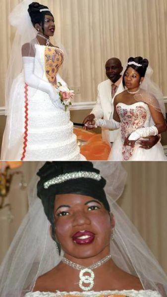 Return to Strange Wedding Cakes 12 pics