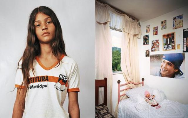 Bedrooms of Kids from Around the World (13 pics)