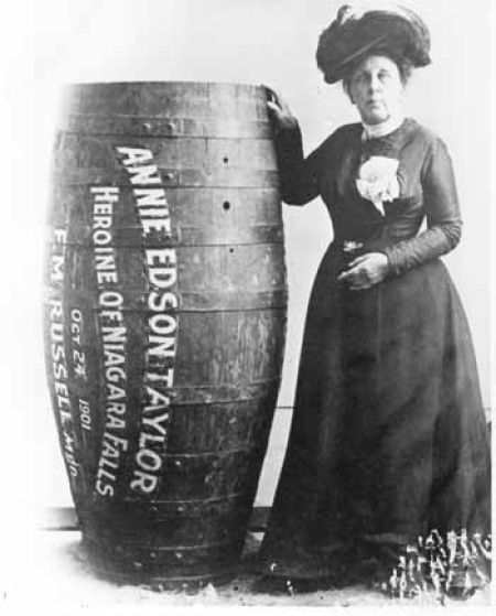 First Lady of Niagara Falls