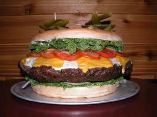Giant Cheeseburger (7 pics)