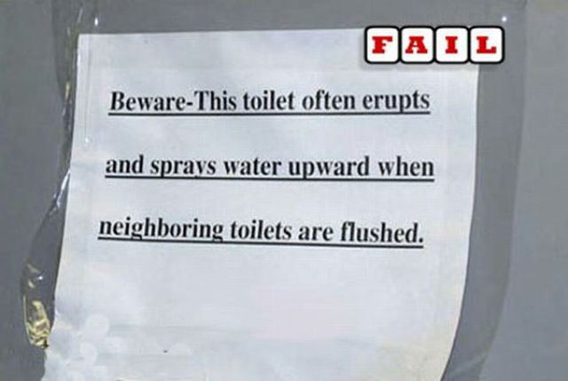 Odd and Hilarious Warning Signs (32 pics)