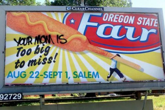 Graffiti Laden Advertisements (40 pics)