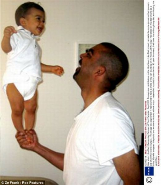 Kids Imitating Parents (24 pics)