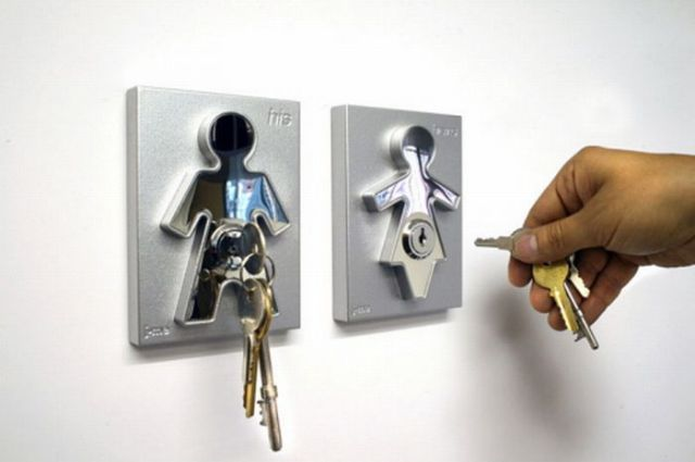 Original Key Holders (14 pics)