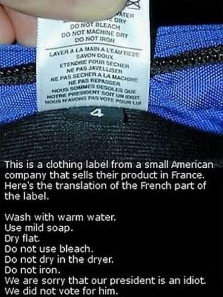 Stupid Warning Labels (23 pics)
